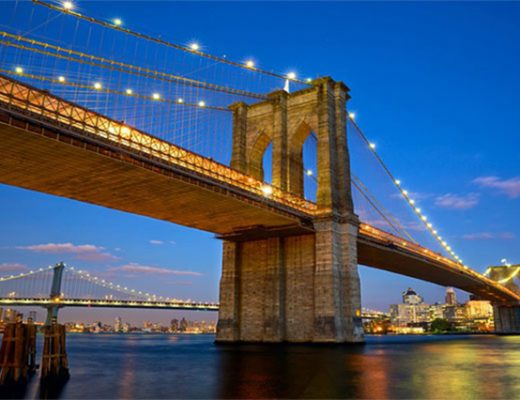 3 cây cầu treo nổi tiếng bắc qua sông Đông ở New York