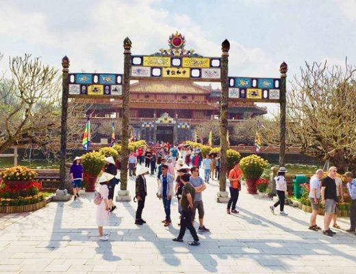 Đại Nội Huế – điểm du lịch tuyệt vời trong dịp Tết 2020