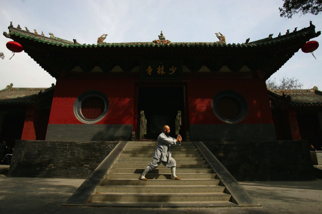 Đền Thiếu Lâm Tự nằm tại Đăng Phong được biết đến là cái nôi của Võ Thiếu Lâm vốn rất nổi tiếng trên thế giới