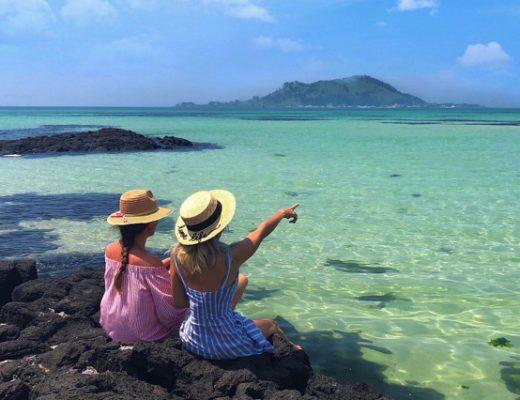 Top 5 bãi biển mùa hè được yêu thích nhất tại Hàn Quốc