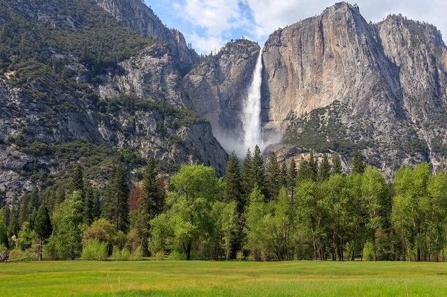 Vẻ đẹp tráng lệ của vườn quốc gia Yosemite ở Mỹ